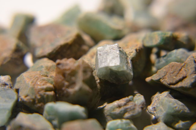 Precious Stones Emerald Emeraldgreen Smaragd Green Smaragd Emerald Unpolished Close-up No People