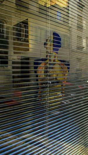 Trough The Window Window Reflections HumanArt Abstract Urbanphotography