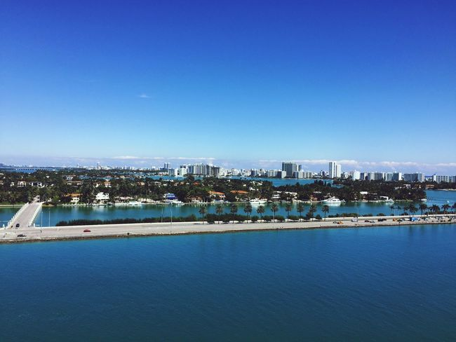 Miami from a cruise ship First Eyeem Photo