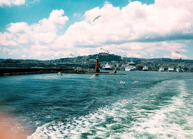 ⛵ Open Edit Eye4photography  Traveling Napoli Golfo Di Napoli Seaside Landscape OpenEdit EyeEm Best Edits