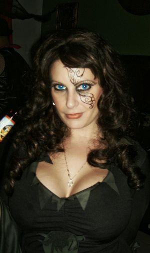 Halloween EyeEm Enjoying Life Hanging Out Sexygirl Blue Eyes No Location Needed Rackcity Bitch