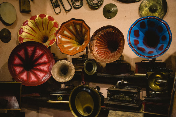 Indoors  No People Still Life Table Choice Creativity Variation Directly Above Multi Colored Large Group Of Objects Art And Craft Close-up Home Interior High Angle View Craft Container Equipment Domestic Room Arts Culture And Entertainment Analogue Sound