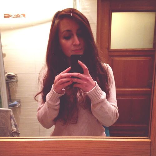 Mirror Hello World Long Hair