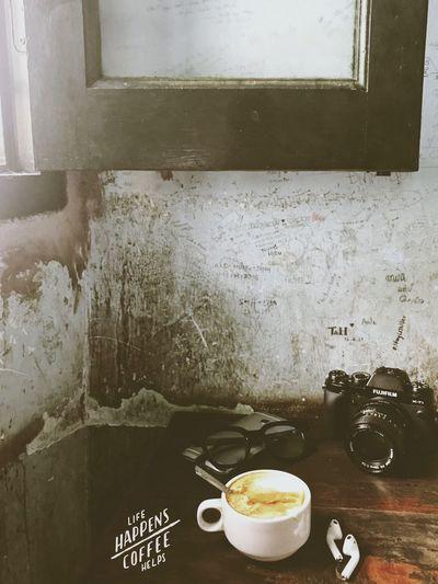"""""""Anh muốn xoay chuyển cả thế giới Để em thích anh, dù chỉ một chút thôi"""" Food And Drink Coffee Cup EyeEm Best Shots EyeEm Selects"""