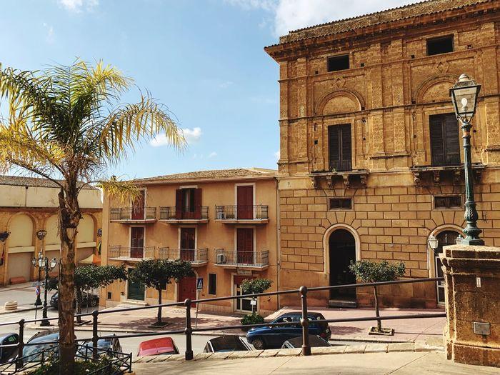 Sambuca Italy Sicily Historical Building Architecture Building Exterior Built Structure Building Tree City Plant