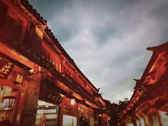 2016年 在丽江古城