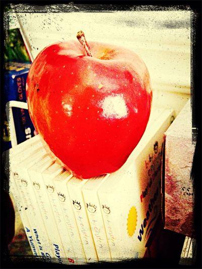 Apple Teacher Red