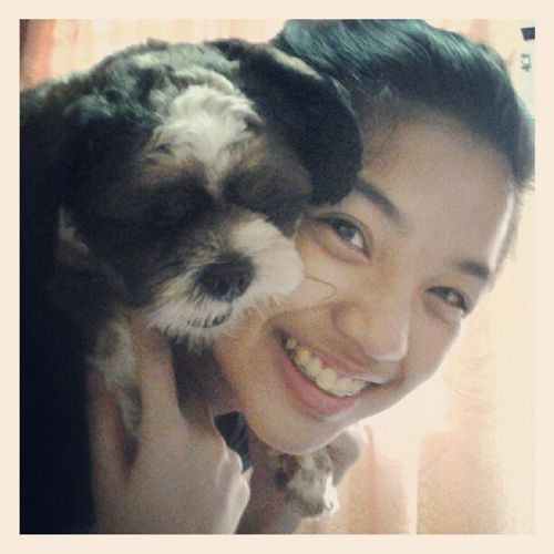 Because a dog on your back is not so mainstream. Hahaha LOL Bored Awwyea :))