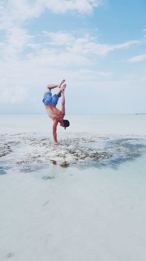 Perspectives On Nature Zanzibar Summer Beach Lifestyle Real People Connected By Travel Happiness Outdoors Beachphotography Vacations Youngwildandfree Lost In The Landscape Nature Free Sky Beauty In Nature Sea Water Sport Acrobatics  An Eye For Travel
