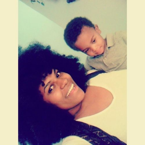 Mommy & Son YoungCarter Haha Lookathisface Heishilarious lategram