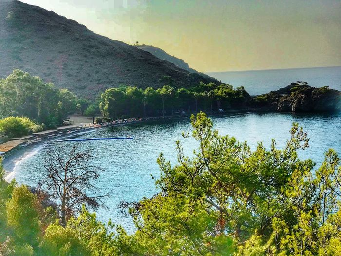 Taking Photos Escaping Peaceful Datca Turkey Kizilbuk Plant Water Sky Beauty In Nature Mountain Tree Scenics - Nature Nature Tranquility Day No People Tranquil Scene Land Outdoors Non-urban Scene Reflection