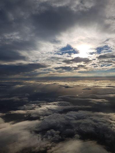 Cloud - Sky Nature Landscape Sky Beauty In Nature No People Travel Destinations Nuages Flight Avion United States États-Unis