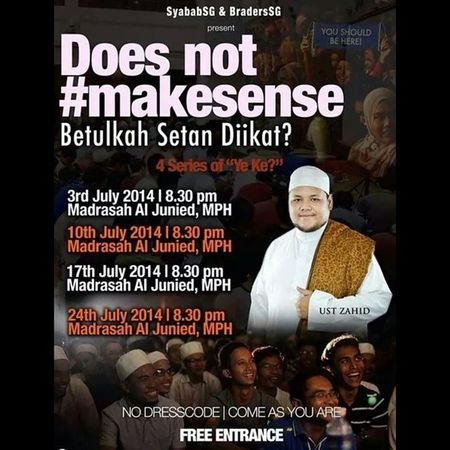 Do you Makesense ? If you are free tonight, just gooooo!!