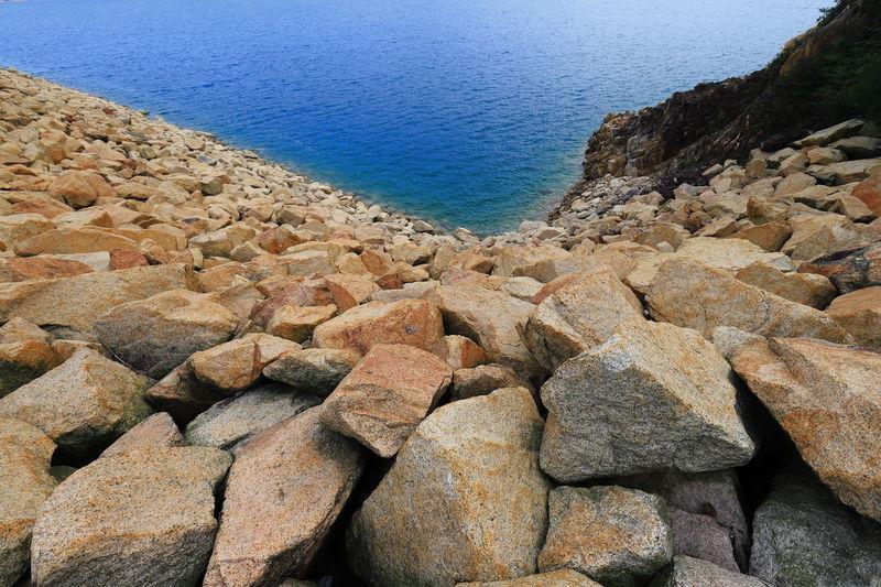 Canon MacleeHoseTrail Canonphotography Canon_photos Tadaa Community Hello World Tranquil Scene Dam Water Blue Rocks Discoverhongkong