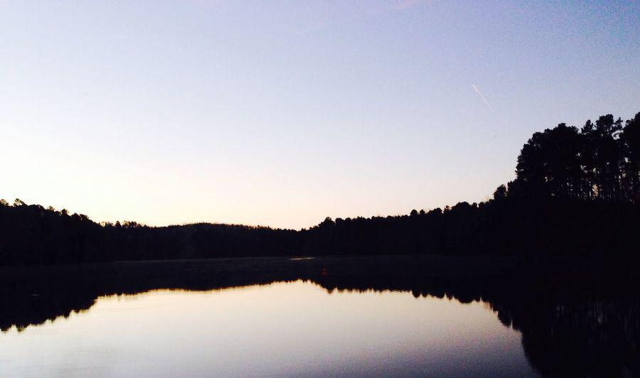 Reflection Water Reflections IPSReflections Lake Morning Morning Light Universitylake Chapelhill North Carolina IPhone