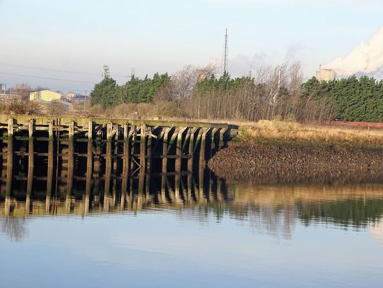 Docklands Industrial Industrial Landscapes No People Reflection Reflections In The Water Tranquility Water