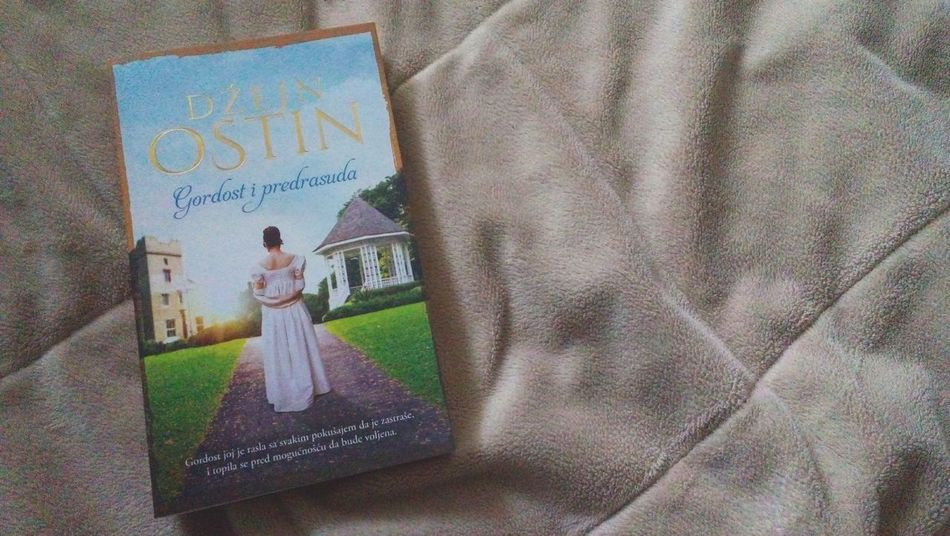Pride And Prejudice Jane Austen Book Love Afternoon Bed Enjoying Life Relaxing