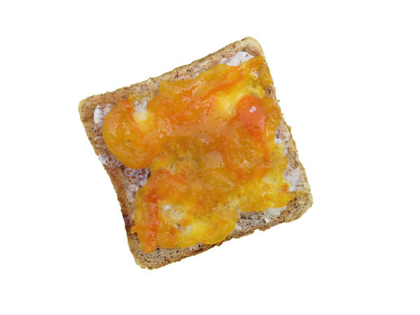 Toast with cumquat jam Breakfast Butterfly Close-up Copy Space Cumquat Tree Cut Out Damaged Food Food And Drink Freshness Geometric Shape Indulgence Jam Marmalade No People Ready-to-eat Single Object SLICE Studio Shot Sweet Food Temptation Toastbread White Background Yellow Yellow Color