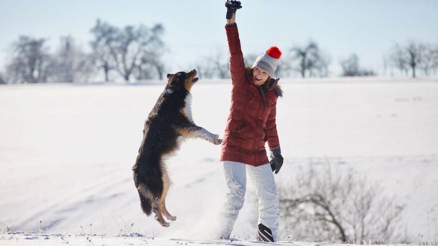 EyeEm Selects Winter Snow Cold Temperature Warm Clothing Mammal Tree