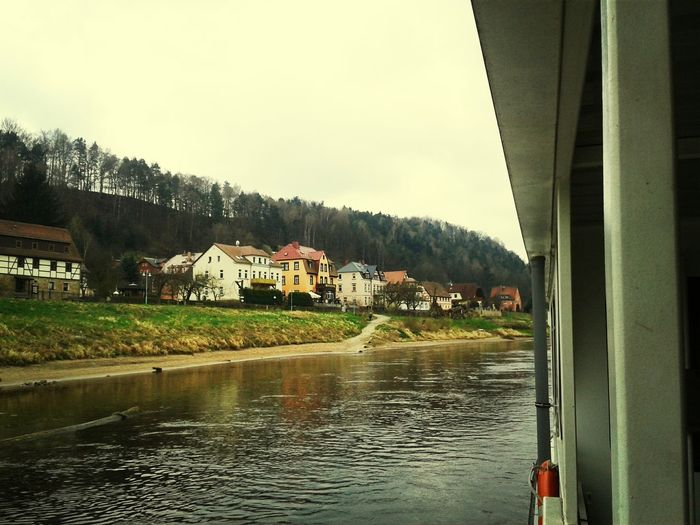 Nature In Love With Dresden on the boat