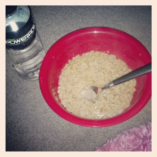 Living the life Ramen Powerade