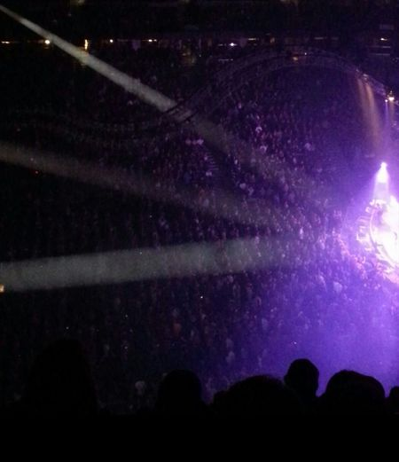 Concert At A Concert In The Moment Having A Good Time! For The Love Of Music Lights Colors awesome