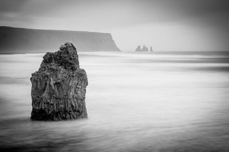 EyeEm Best Shots EyeEm Nature Lover EyeEm Selects Iceland Nature Beach Beauty In Nature Blackandwhite Horizon Horizon Over Water Landscape Mountain Ocean Outdoors Reynisdrangar Rock Rock - Object Rock Formation Scenics - Nature Sea Seascape Tranquil Scene Tranquility Travel Destinations Water EyeEmNewHere My Best Travel Photo A New Beginning Autumn Mood