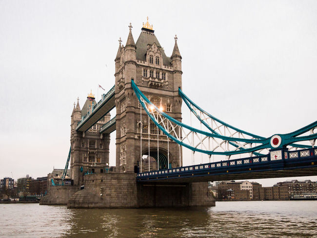 Architecture Bridge Bridge - Man Made Structure Built Structure Canal Capital Cities  City Connection Culture Day Engineering London No People Outdoors River Sky Tourism Tower Bridge  Travel Destinations Uk Water
