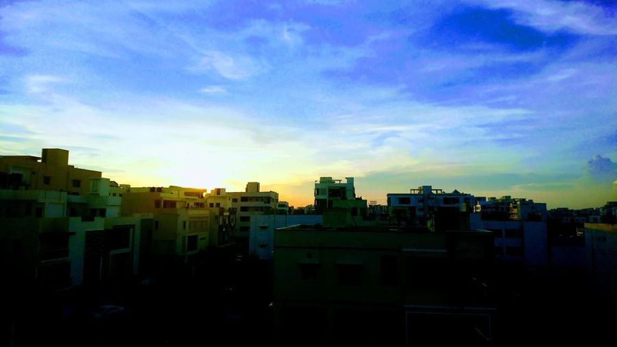 Captured by Xperia but Auto-Edited by Google Photos Cityscape Architecture Building Exterior City Urban Skyline Sunset Skyscraper No People Sky Cloud - Sky Outdoors Illuminated Day Xperian Photography Sony Xperia Xz1 Sony Xperia Mobile Photography Google Photos Edited Edited Auto Edit From Google Photo