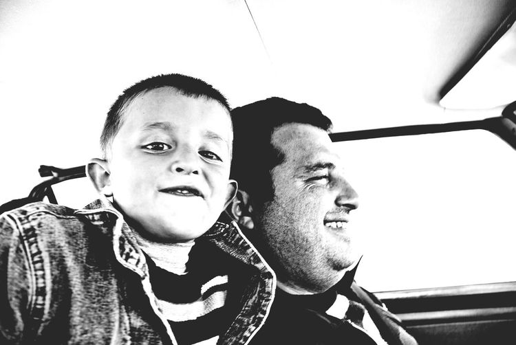 Maternal uncle and his uncle's son. Family Matters People Black And White Child