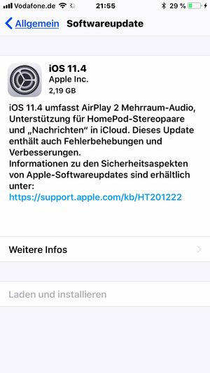 Software Update IOS 11.4 is here 📱🖥😉 TH Tahsin Hanli EyeEm IOS Update Communication Text Technology Internet Wireless Technology Computer Network Web Page