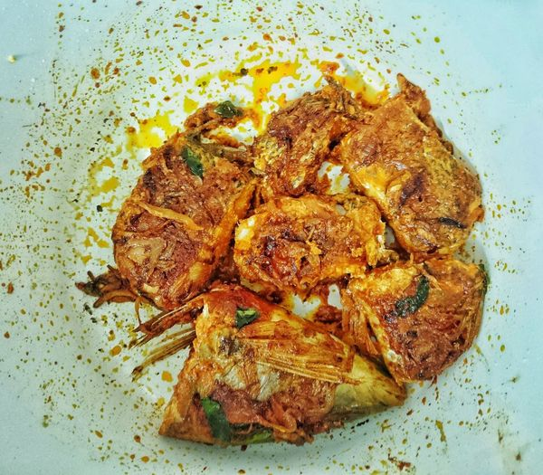 fried spicy fish Reef Fish Salt Water Fish Tasty Foods Exotic Food Best Taste Fish Fish Fish Sauce Fried Fried Fish Pan Fried Pan Fried Fish Pan Fried Reef Fish Close-up No People Food Indoors  Nature Day