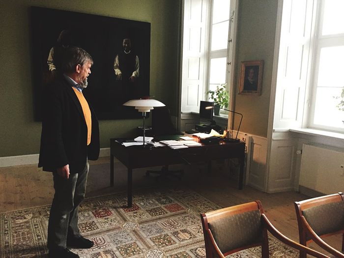 The bishop at his office in Roskilde, Denmark Bishop Church Hello World Hanging Out