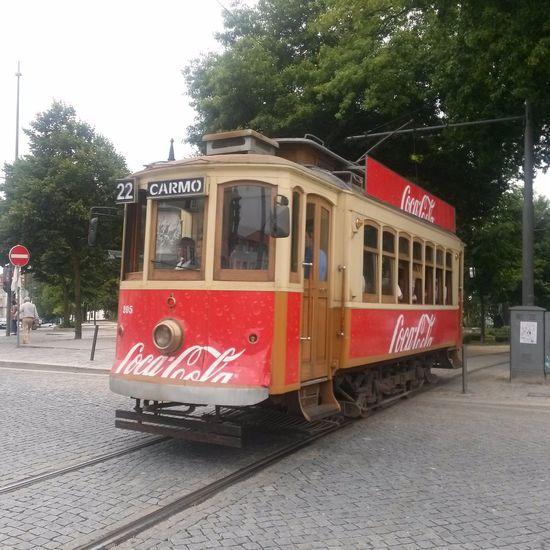 Oporto, Portugal Tranvía