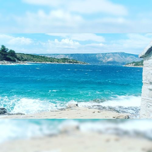 Beautiful place!! Sea Beach Blue Cloud - Sky Landscape