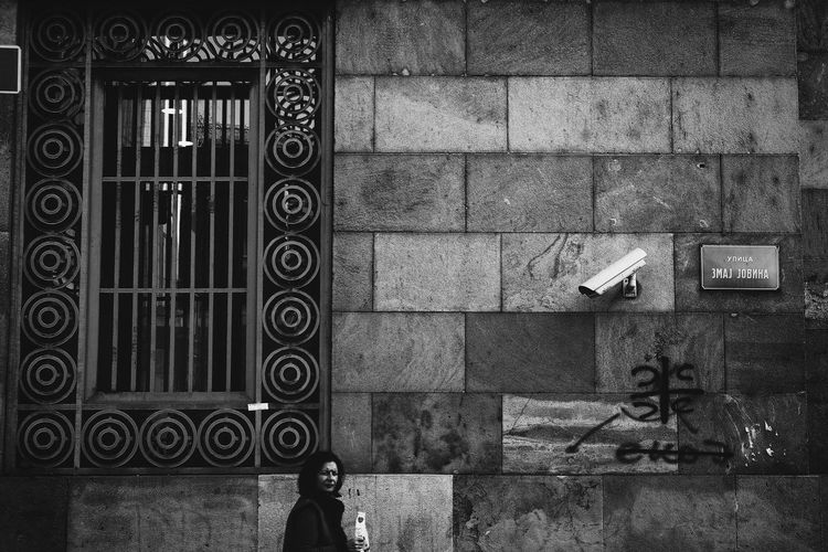 Surveillance Building Exterior Day Streetphotography Surveillance Surveillance Camera The Street Photographer - 2017 EyeEm Awards Window Women The Troublemakers