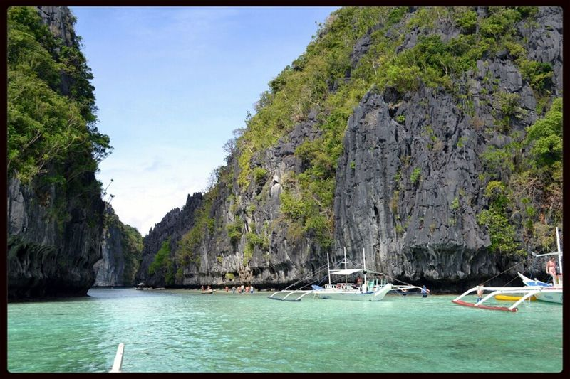 Travel Tropical Cliff Water_collection