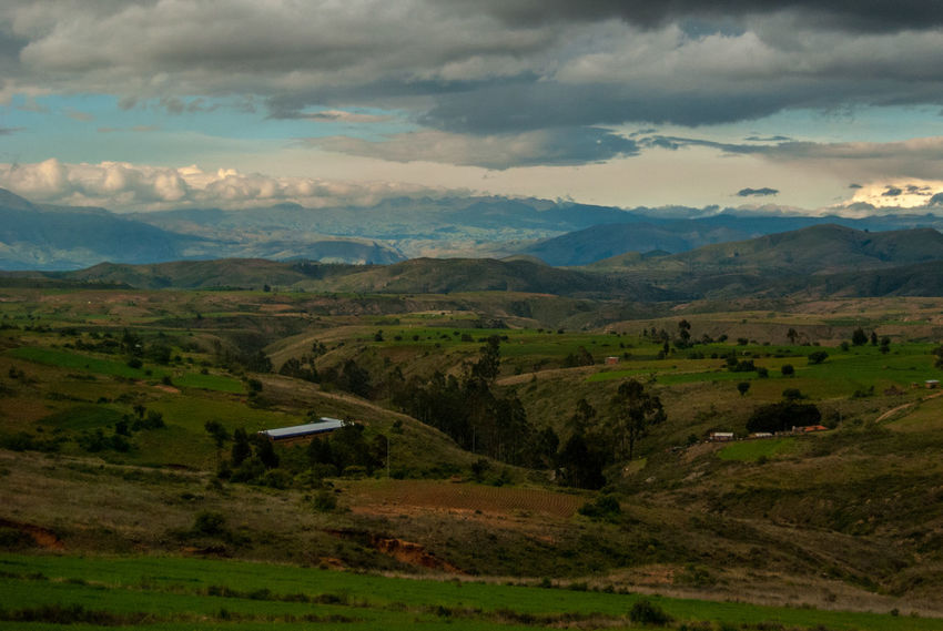 Bolivian Landscape Bolivia Beauty In Nature Cloud - Sky Day Landscape Mountain Mountain Range Nature No People Outdoors Scenics Sky Torotoro Tranquil Scene Tranquility