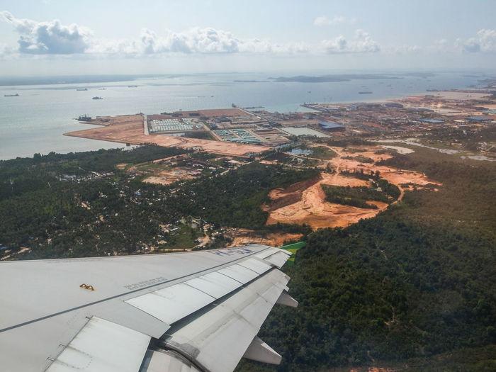 Land as seen