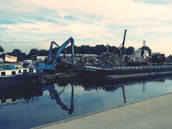 Industrial Photography Scrap Yard Scrap Metal