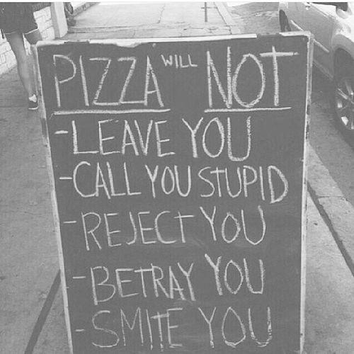 The only. PIZZA ♥ \\ Pizza Mylove Neverleaveyou @livyzobey