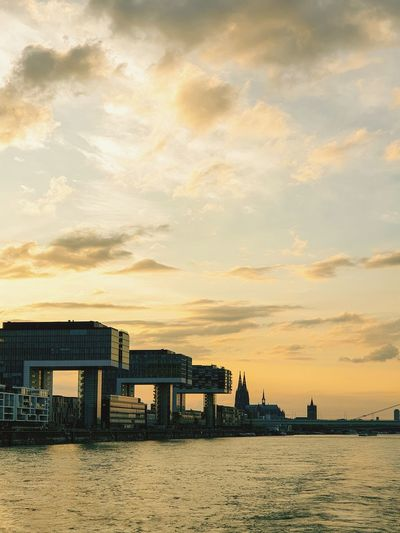 Germany GERMANY🇩🇪DEUTSCHERLAND@ Cathedral Kölner Dom Cologne Köln German Church Sunrise Sunset Köln Kölner Dom Cologne , Köln,  Cologne Cathedral Water Sunset Beach Sea Multi Colored Sand Blue Sky Architecture Building Exterior Tranquility Dramatic Sky Countryside Sky Only Calm Romantic Sky