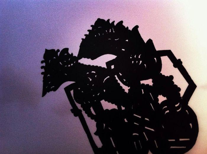 Morning Sky Shadow Puppets Wayang Rama Shinta