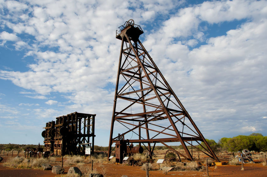 Old Mine Shaft Australia Mine Shaft Old Mine Shaft Outback Mine Shaft