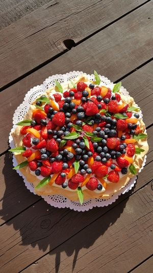 Dessert Fruit Cake Ready-to-eat Sweet Food Pavlova Cake Pavlova Birthday Cake Birthdaycake