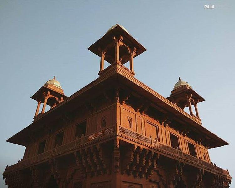 Jodha Palace Fatehpursikri Nexus6P HDR Nexus6pphotography VSCO Vscocam Eveningsky