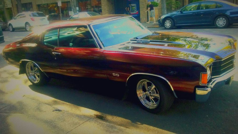 Chevelle Beauty Voom Voom Not Mine But I Love It Anyway Nice Car Taking Photos Burgendy Car Blast From The Past Timelessness Wow Factor Click Click 📷📷📷 Timeless Beauty Eye4photography  Friends Of EyeEm For My Friends That Connect Beauty In All Things Its Not Just Any Old Car...
