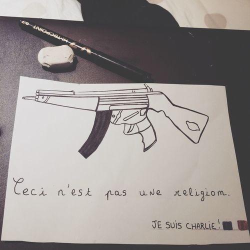 Jesuischarlie Draw France 🇫🇷💙
