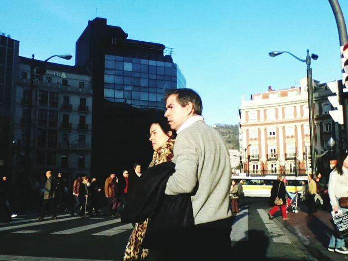 I Love My City Street Photography Bilbao Streetphotography Street Urban Lifestyle People Ipod Ipodphotography Street People Capture The Moment