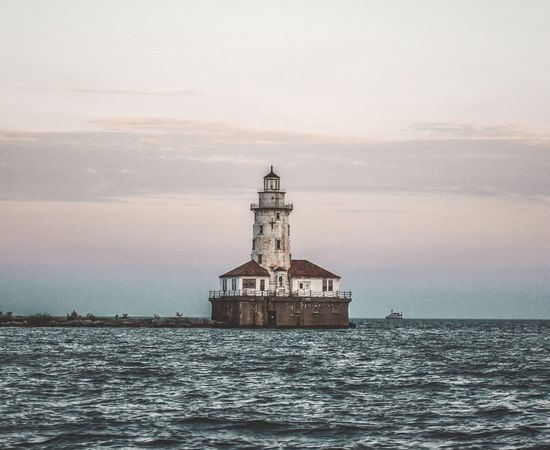Sea Water Architecture Built Structure Sky Waterfront Lighthouse No People Building Exterior Sunset Nature Horizon Over Water Outdoors Cloud - Sky Beauty In Nature Scenics Day Photography